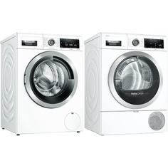 Комплект стиральной и сушильной машины Bosch WAV28IH1OE + WTX87KH1OE