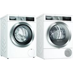 Комплект стиральной и сушильной машины Bosch WAX32FH1OE + WTX87EH1OE