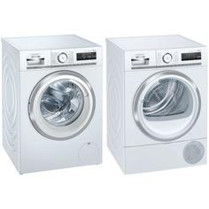Комплект Siemens WM14G0H1OE / WT47XKH1OE (стиральная машина/сушильная машина)
