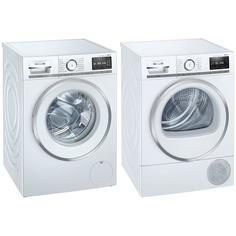 Комплект стиральной и сушильной машины Siemens WM16XDH1OE + WT47XEH1OE