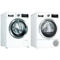 Комплект стиральной и сушильной машины Bosch WAV28GH1OE + WTX87KH1OE