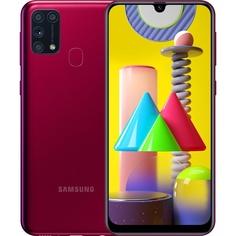 Смартфон Samsung Galaxy М31 (2020) красный