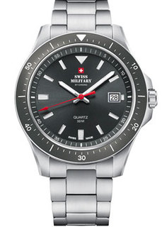 Швейцарские наручные мужские часы Swiss military SM34082.03. Коллекция Кварцевые часы
