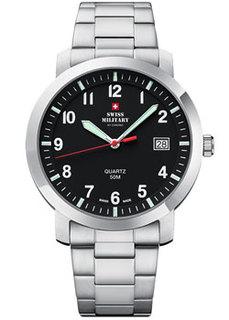 Швейцарские наручные мужские часы Swiss military SM34083.07. Коллекция Кварцевые часы