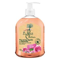 LE PETIT OLIVIER Мыло марсельское жидкое Роза