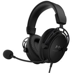 Игровые наушники HyperX Cloud Alpha S Black (HX-HSCAS-BK/WW)