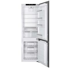 Встраиваемый холодильник комби SMEG CD7276NLD2P1