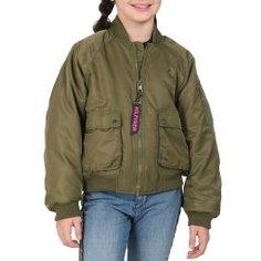 Куртка TOMMY HILFIGER KG0KG04913 темно-зеленый