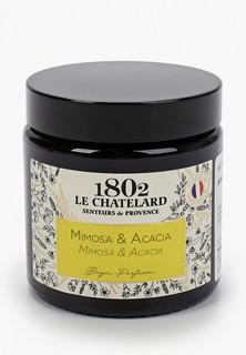 Свеча ароматическая Le Chatelard 1802 Мимоза - Акация, 80 г.