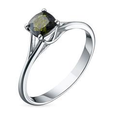 Кольцо из серебра с хромдиопсидом эк06к021706х ЭПЛ Якутские Бриллианты
