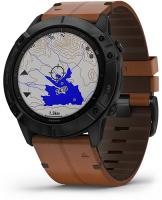 Умные часы Garmin Fenix 6X Sapphire Carbon Gray/Black