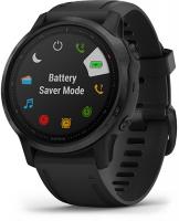 Умные часы Garmin Fenix 6S Sapphire Carbon Grey/Black