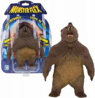Тянущаяся фигурка 1toy Monster Flex: Гризли, 15 см (Т18100-6)