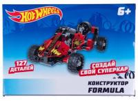 Конструктор 1toy Hot Wheels: Formula, 127 деталей (Т15402)