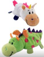 Мягкая игрушка 1toy Вывернушка: Единорог-Дракон, 12 см (Т10915)