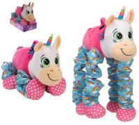 Мягкая игрушка 1toy Пружиножки: Единорог, 23-58 см (Т13876)