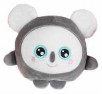 Мягкая игрушка 1toy Squishimals: Серая коала, 20 см (Т14352)
