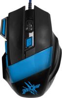 Игровая мышь Oklick 775G Ice Claw Black/Blue