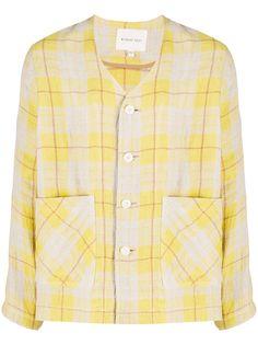 Nicholas Daley клетчатая рубашка с карманами