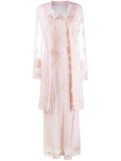A.N.G.E.L.O. Vintage Cult платье и кардиган 1990-х годов