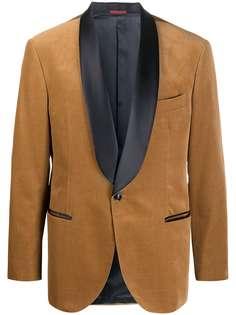 Brunello Cucinelli вечерний костюм с контрастными лацканами