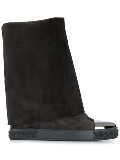 Casadei ботинки с широким голенищем
