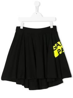 Gaelle Paris Kids юбка мини со складками