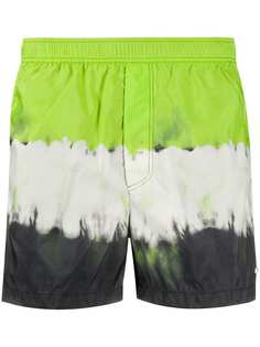 Valentino плавки-шорты с принтом тай-дай
