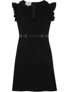 Gucci платье с расклешенными рукавами