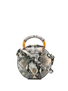 Kurt Geiger London сумка на плечо Rhona с тиснением под змеиную кожу