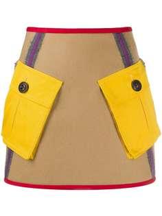 Dsquared2 юбка А-силуэта с карманами