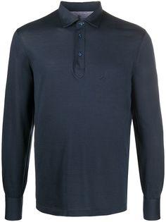 Brunello Cucinelli рубашка поло с длинными рукавами