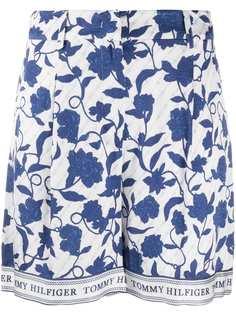 Tommy Hilfiger шорты с цветочным принтом