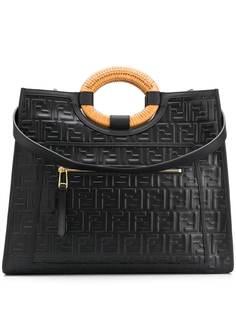 Fendi сумка-тоут с логотипом FF