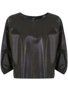 Arma блузка с пышными рукавами