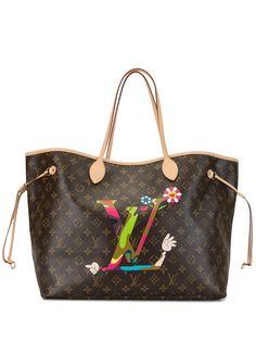 Louis Vuitton сумка-тоут Murakami Edition Neverfull 2012-го года