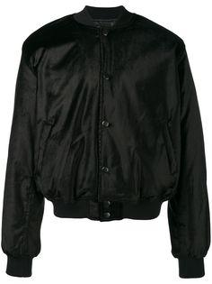Sss World Corp бархатная куртка-бомбер