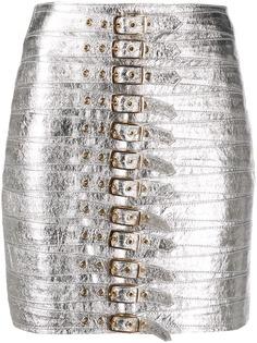 Manokhi юбка-карандаш с эффектом металлик
