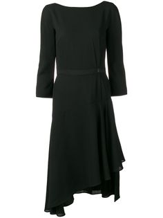 LANVIN асимметричное платье