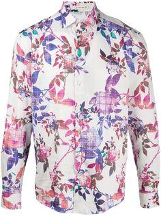Etro рубашка с принтом