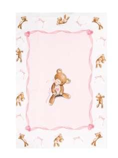 Monnalisa одеяло с принтом Teddy Bear