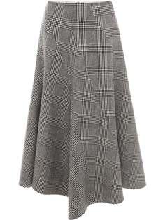 JW Anderson юбка в ломаную клетку