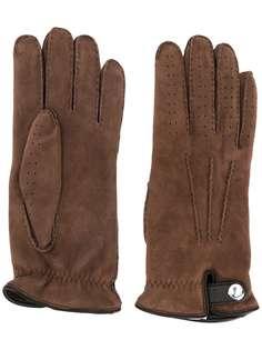 Brunello Cucinelli перчатки с вышивкой