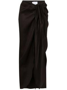 Bondi Born драпированная юбка миди