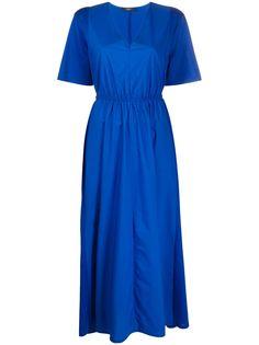 Max Mara платье миди с V-образным вырезом