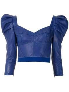Andrea Bogosian блузка с пышными рукавами
