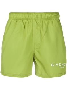 Givenchy плавки-шорты с логотипом