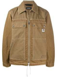 Diesel куртка с декоративной строчкой