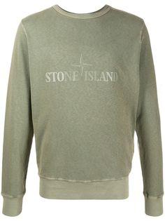 Stone Island толстовка с логотипом