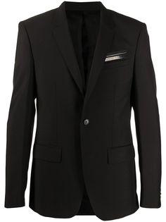 Givenchy пиджак с полосками